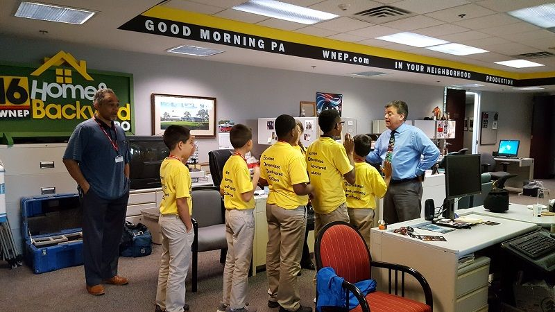 Field Trip to WNEP Channel 16 : Wyoming Valley SDA Elementary School